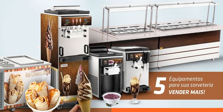 5 equipamentos para a sua sorveteria vender mais